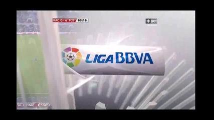 Racing - Barcelona 0 - 4 Messi