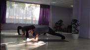 3 минутна йога тренировка за стягане на цялото тяло