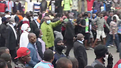 Democratic Republic of Congo: Thousands march to protest electoral commission appointee