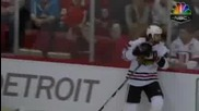 Хокеист срязва гърлото на съотборника си без да иска -