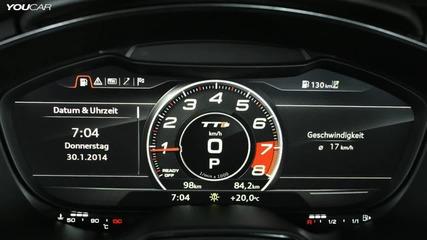 Интериора на Audi Tts 2015