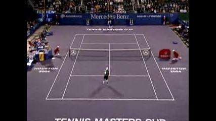 Roger Federer Vs Lleyton Hewitt 2004 Tmc
