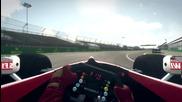 Williams Fw21 hot lap