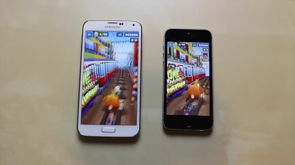 Тестване на - Galaxy S5 vs iphone 5s