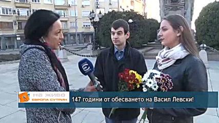 147 години от обесването на Васил Левски!
