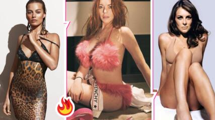 Кои са топ актрисите, които се снимат най-често по бельо