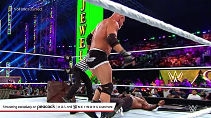 Goldberg drops Bobby Lashley with a mighty Jackhammer: WWE Crown Jewel 2021 (WWE Network Exclusive)