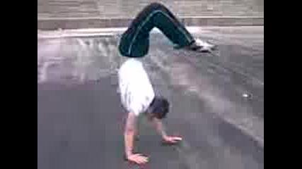 Unique Handstand