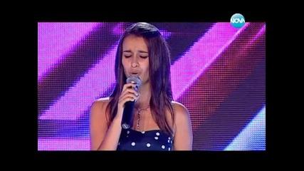 X Factor 15 годишната Анна- Мария разплака журито