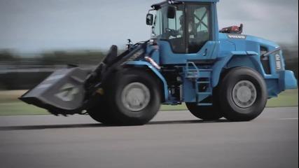 Най-бързият товарач в света- Volvo, 120 км.час