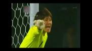 Женски футбол- страхотни спасения на Михо Фукумото