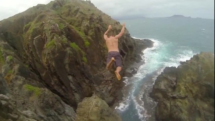 Страхотни Скокове във Вода - Хаваи