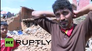 """Nepal: """"Nobody can help us"""" - village resident despairs at lack of aid"""
