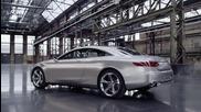 Mercedes не правят просто автомобили, а шедьоври - Concept S-class Coupe