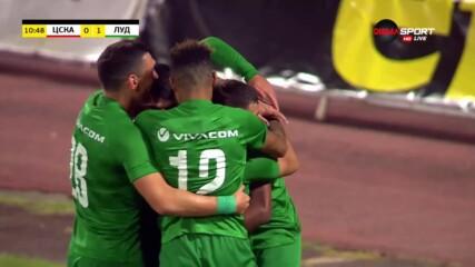 Алекс Сантана даде ранен аванс на Лудогорец срещу ЦСКА