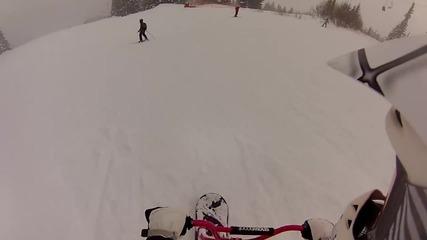[snowscoot] Дневно каране Витоша 09.02.2013 г.