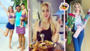 3 месеца по-късно: Антония Петрова пак на Малдивите! Посреща семейно куп празници