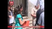 /04.07.2014/ Цигани протестираха срещу прокуратурата