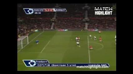 Манчестър Юнайтед 3:0 Бърнли - Rooney гол
