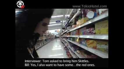 Tokio Hotel Tv Eпизод 41 - Лудо Пазаруване с Бил