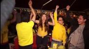 Фиеста в Кито след победата на Еквадор