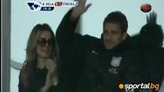 Вижте емоционалната 19-а минута на мача Астън Вила - Челси