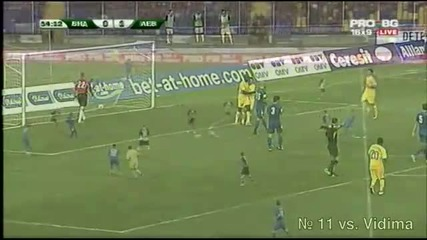 Garra Dembele - 26 goals for Levski