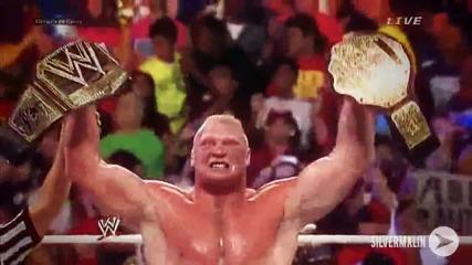 Brock Lesnar Promo: The Human Beast