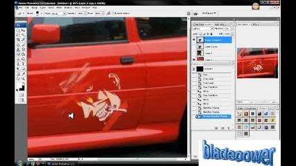 Как да сложим картинка върху кола
