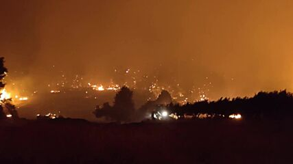 Greece: Fires on Evia island out of control amid record heatwave