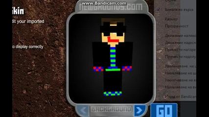 minecraft : my skin
