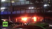 Великобритания: Пожар избухна на паркинга на летището в Гатуйк