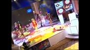 Exclusive Алисия - Едва ли те боли - песен - live от наградите Фен Тв Hq