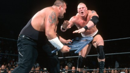 Paul Heyman betrays Brock Lesnar by helping Big Show: Survivor Series 2002