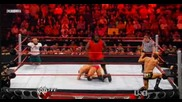 Wwe - Hornswoggle And Mark Henry Vs The Legacy