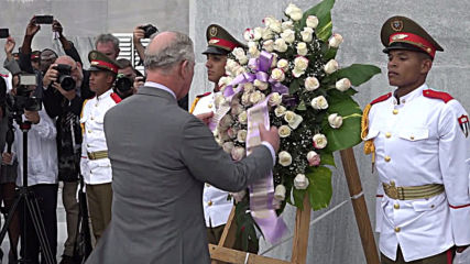 Cuba: Prince Charles makes historical royal visit