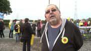 UK: Hundreds protest at Lancashire fracking site following decision to allow drilling
