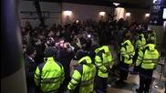 Denmark: Scuffles break out at Copenhagen airport during border check protest