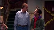 Теорията за големия взрив S04e09 - Сложността с гаджетата