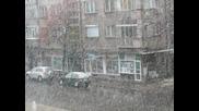 Първи Сняг В Русе