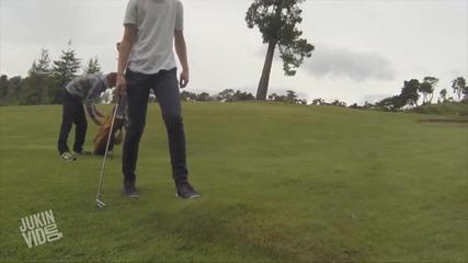 Странен мехур на голф игрище