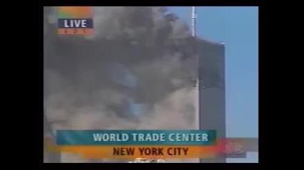 11 - и септември 2001 - , както това стана, - пльосване в южна кула