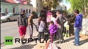 Германия: Още бежанци пристигнаха в убежище в покрайнините на Берлин