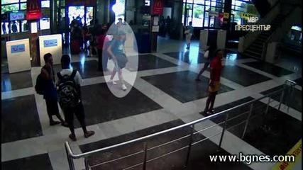 Видео със камикадзето от атентата в Бургас
