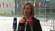 Luxemburg: Mogherini wants 'solidarity' among EU states over migration