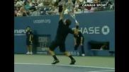 Roger Federer-Smach