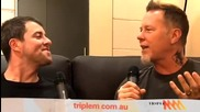 James Hetfield Talks About the ugly jumper worn by the life coach in Skom