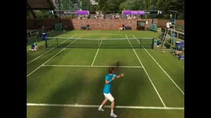 Virtua Tennis 4 My Gameplay