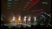 Seeya Davichi Tara - 4ever Love [sbs Inkigayo 090531]