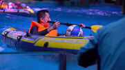Look ma, no feet! Athletes don MERMAID tails at Wuhan underwater race